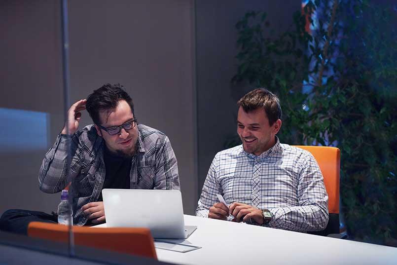guys working on startup idea