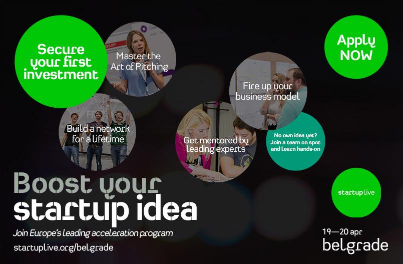 startuplive belgrade
