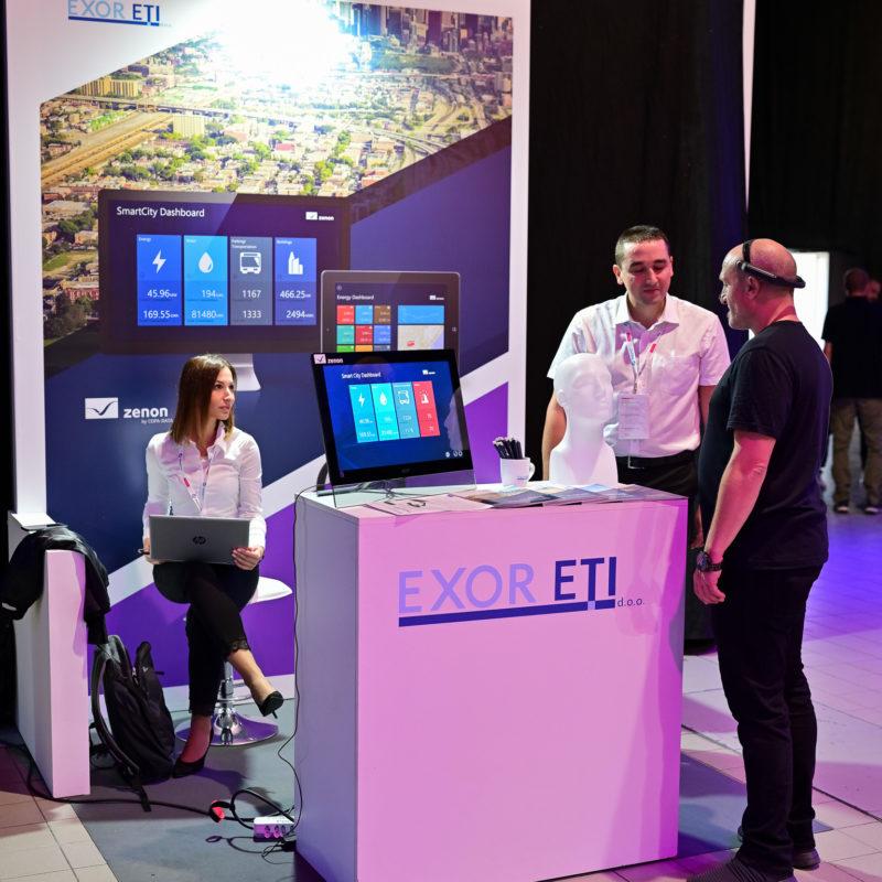 Exor ETI at Smartcity festival 2019
