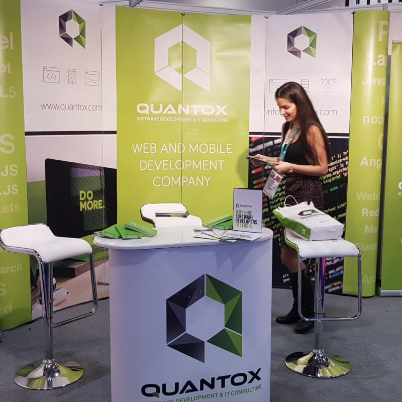 Quantox booth