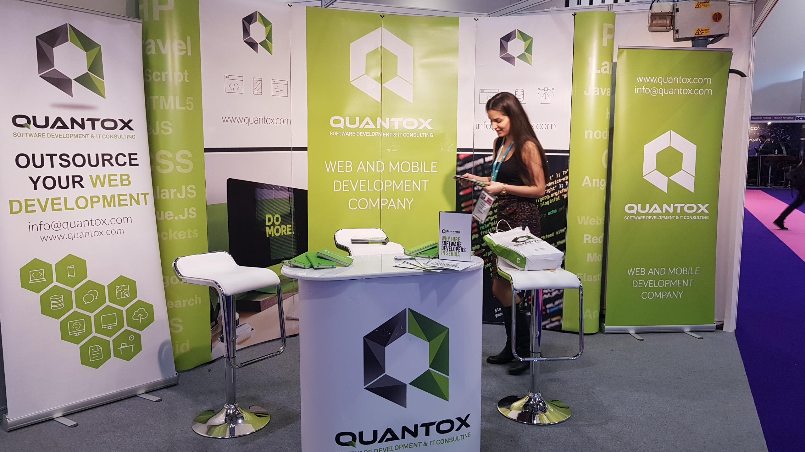 Quantox booth