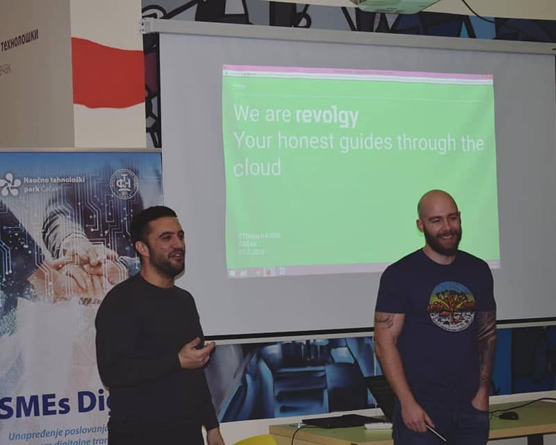 Revolgy team in Serbia
