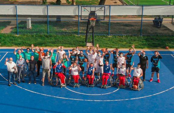 Učesnici košrakraškog turnira Masketball na okupu