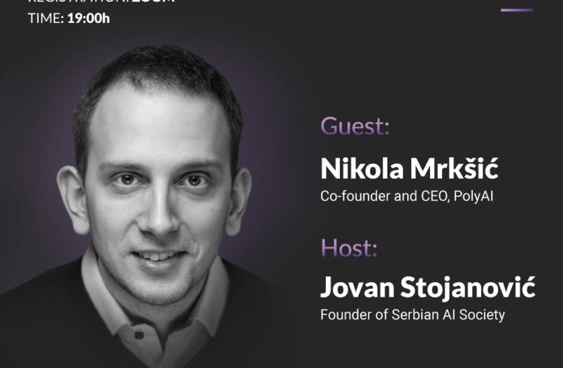 Nikola Mrkšić PolyAI on Talking Minds webinar