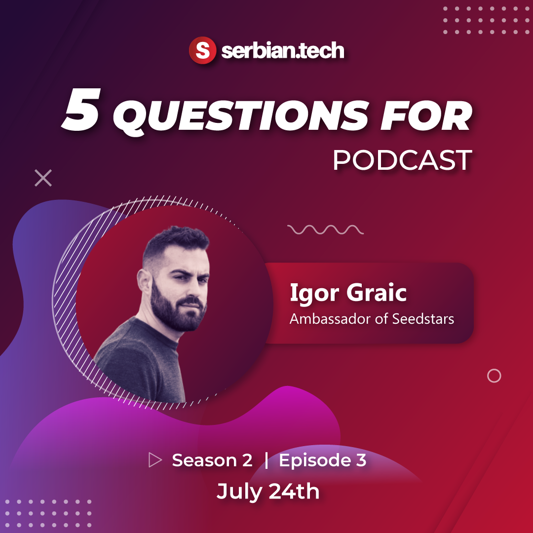 Serbian Tech podcast guest
