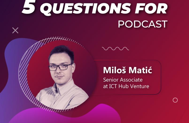 5 questions for Milos Matic