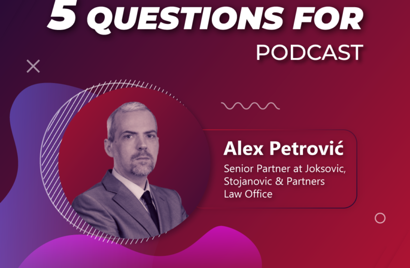 5 questions for... Alex Petrovic