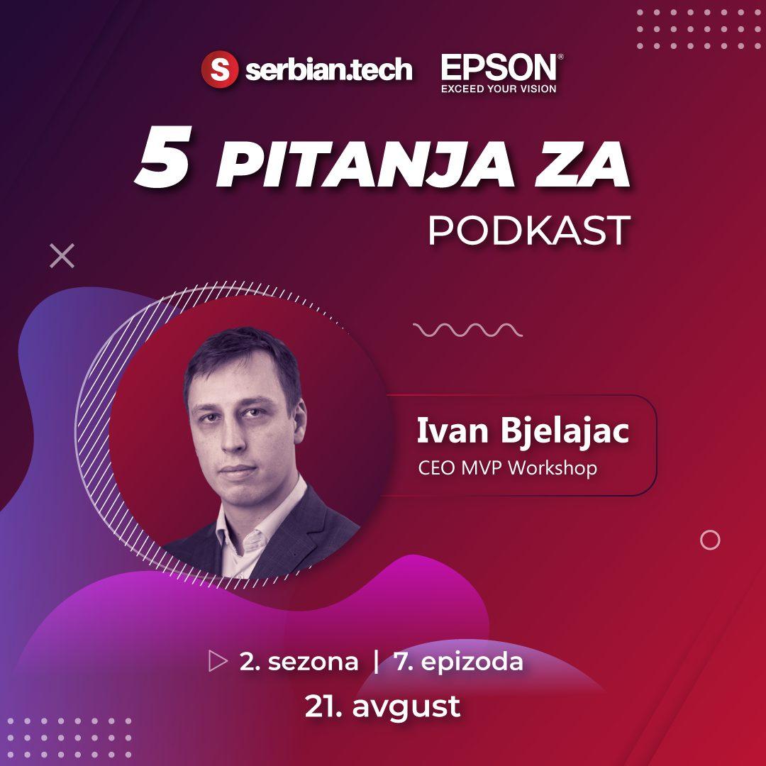 Ivan Bjelajac na SerbianTech podkastu