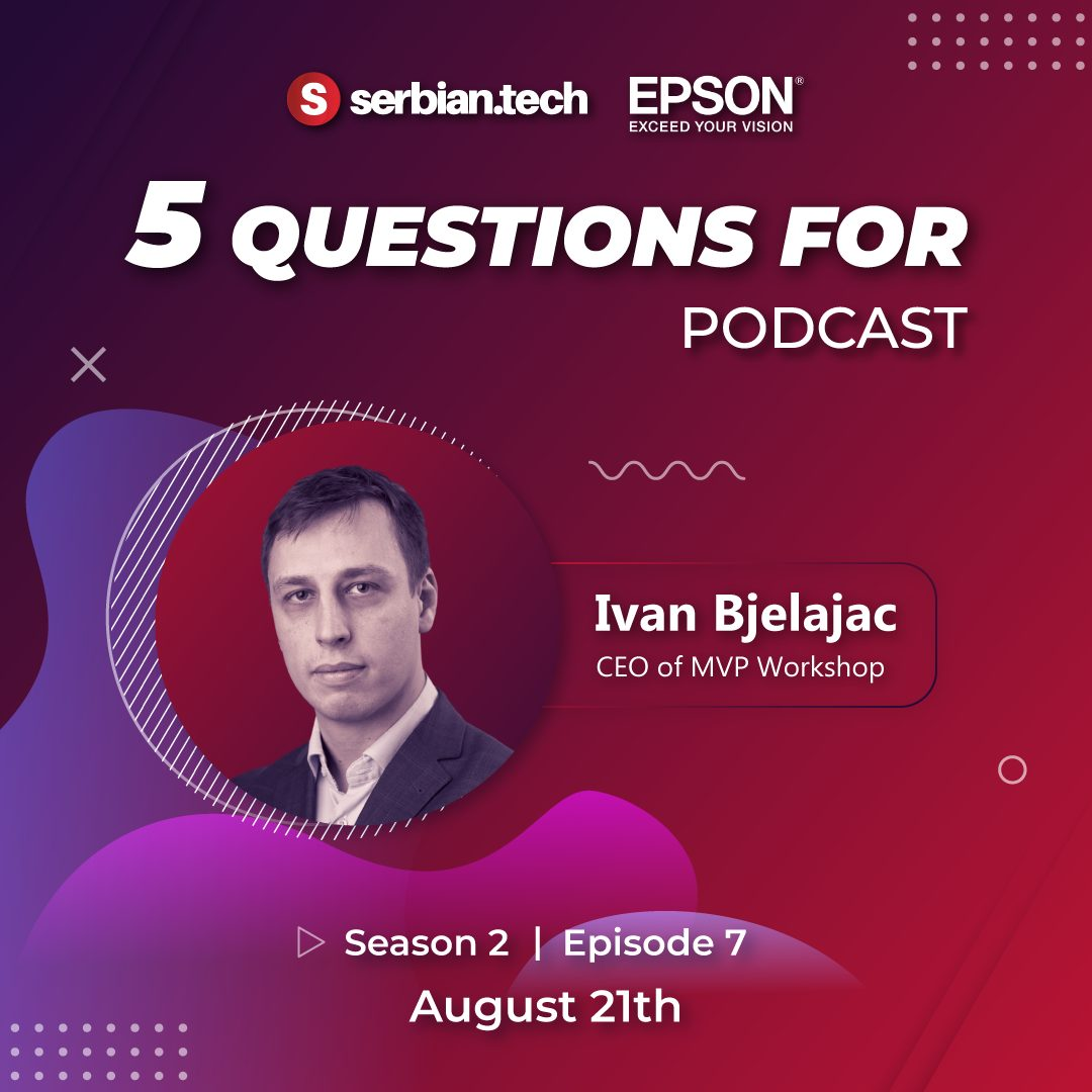 Ivan Bjelajac on SerbianTech podcast