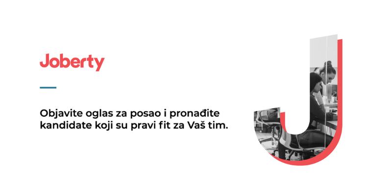 Serbian tech presenting Joberty