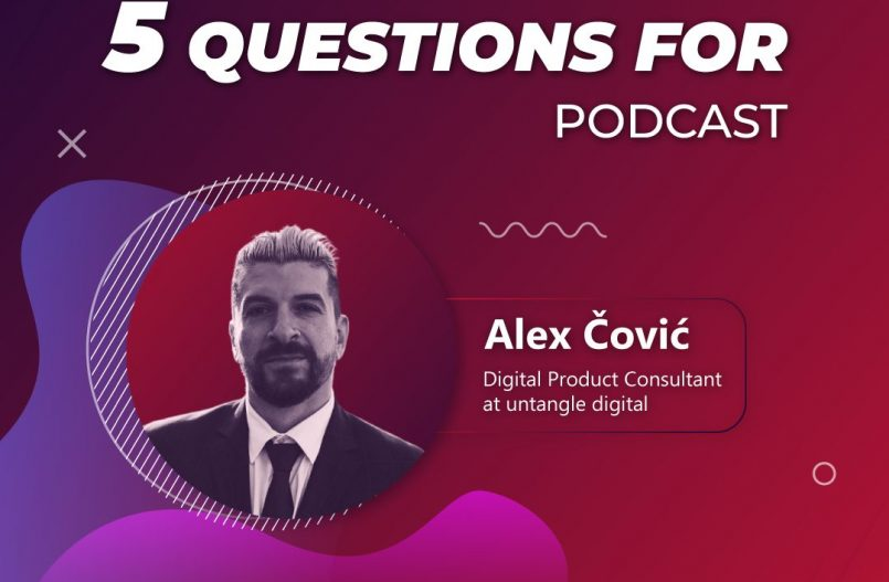 5 questions for... Alex Covic