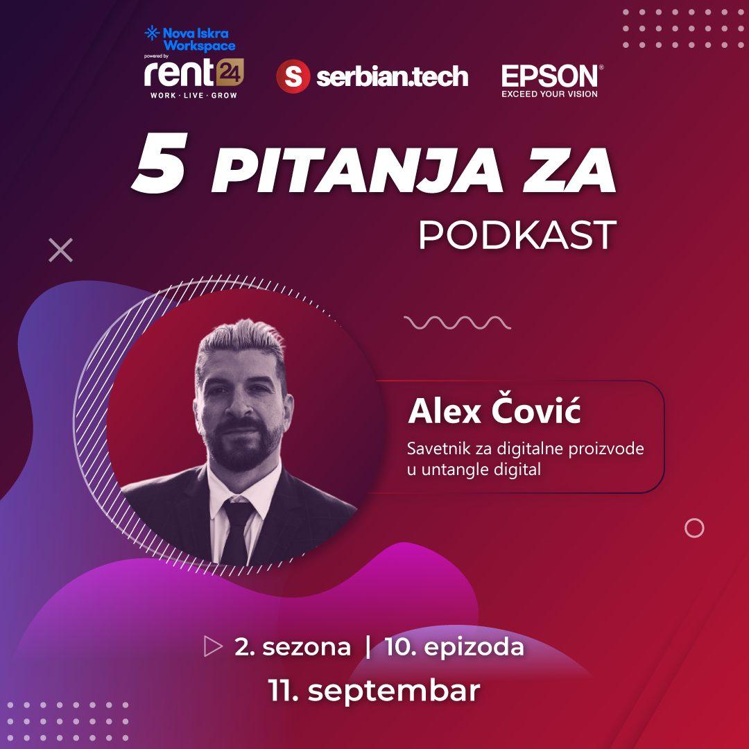 5 pitanja za... Aleksa Čovića