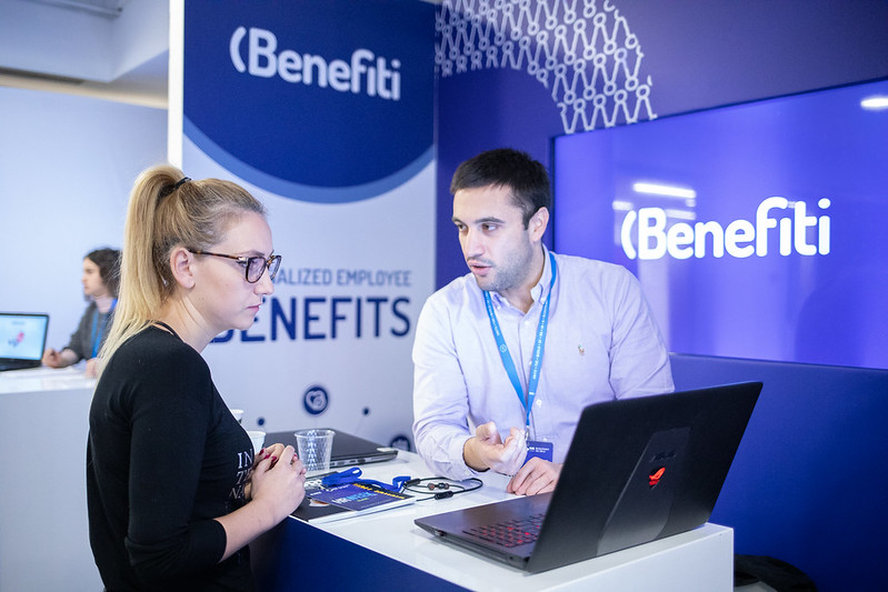 Visitor interested in Benfiti platform