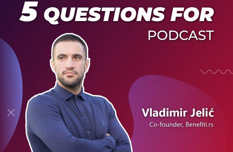 SerbianTech podcast guest Vladimir Jelic
