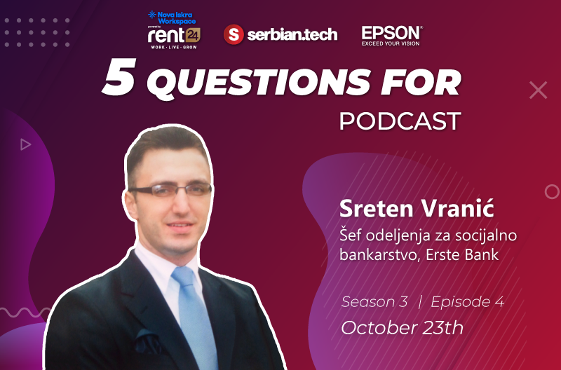5 questions for Sreten Vranic featured