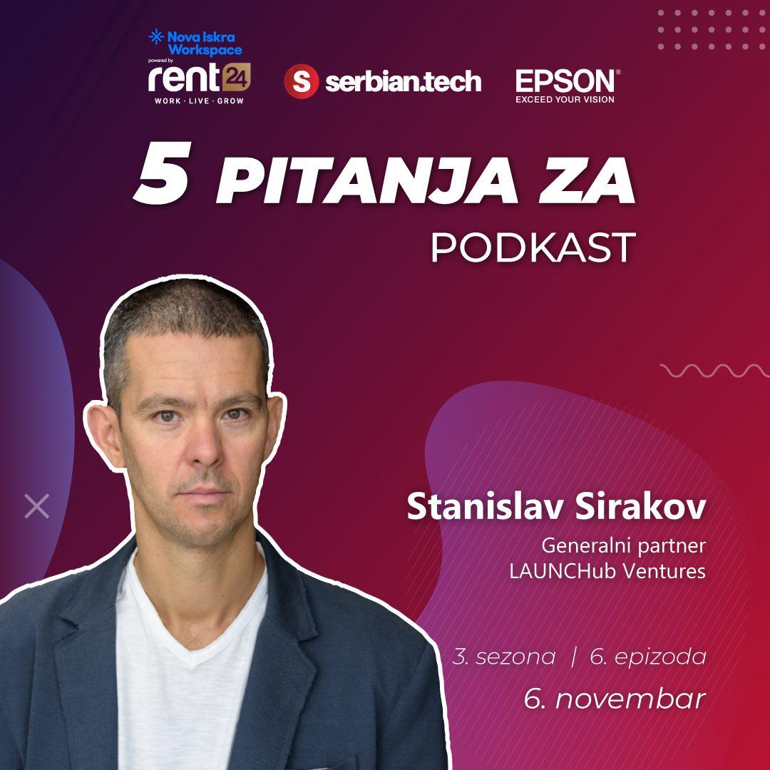 5 pitanja za... Stanislava Sirakova