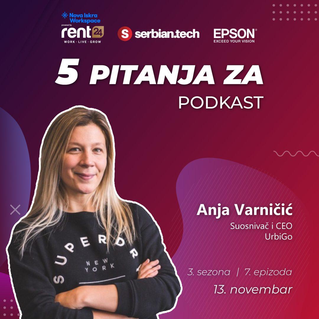 """Anja Varnicic na """"5 pitanja za..."""""""