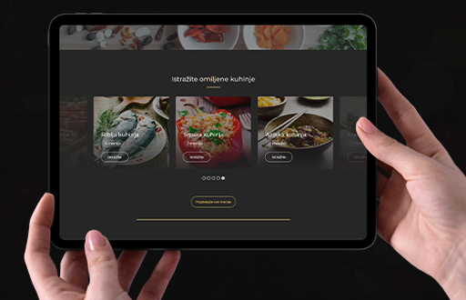 Licni kuvar menu