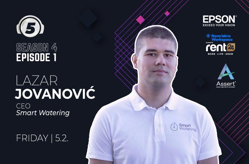 5 questions for Lazar Jovanovic