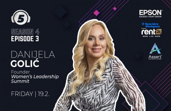 "Danijela Golic on podcast ""5 questions for..."""