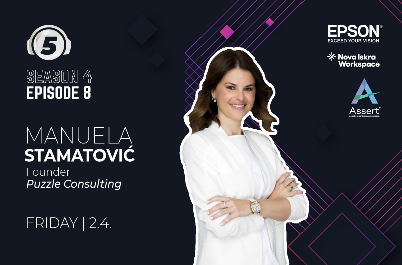 5 questions for... Manuela Stamatovic