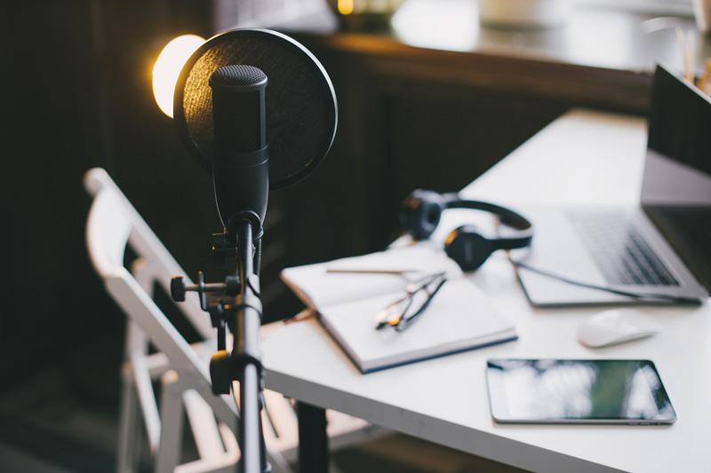 Podcast and radio equipment