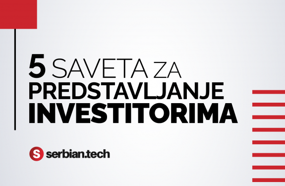 predstavljanje investitorima, web SRB